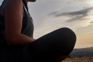Katyana LABS  Meditation on top of the mountain